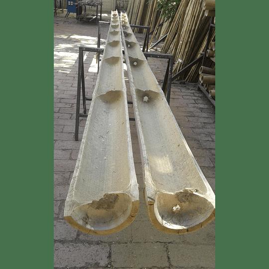 Bambú Asper Natural - Media Caña - Image 6