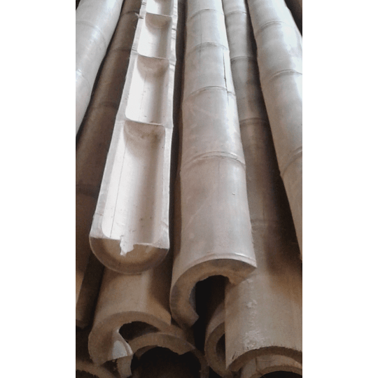 Bambú Guadua Natural - Media Caña - Image 2