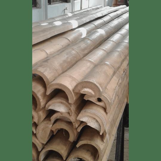 Bambú Guadua Natural - Media Caña - Image 5