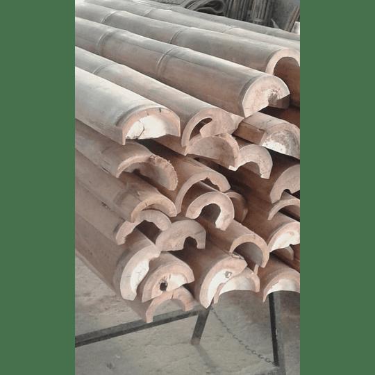 Bambú Guadua Natural - Media Caña - Image 6