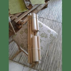 Set Bambuterapia de Bambú Moso