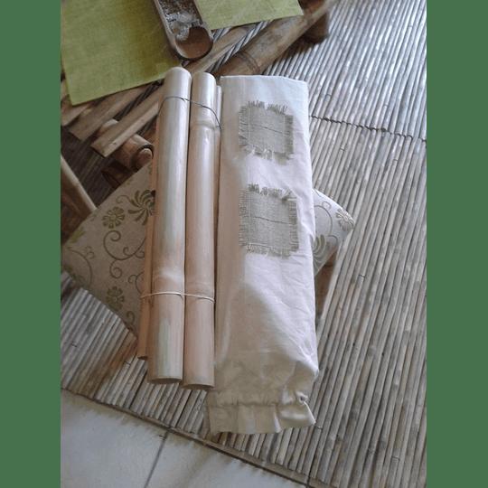 Set Bambuterapia de Bambú Moso - Image 3