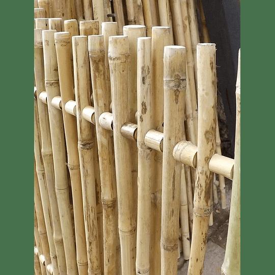 Panel Rígido con anillos Bambú Colihue (tipo rejilla) - Image 3