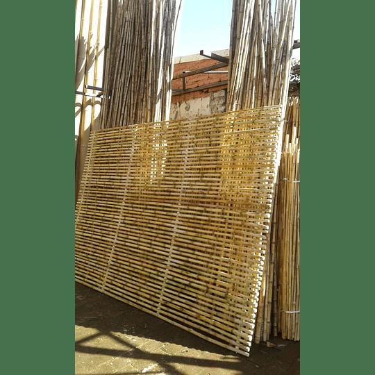 Panel Rígido con anillos Bambú Colihue (tipo rejilla) - Image 5