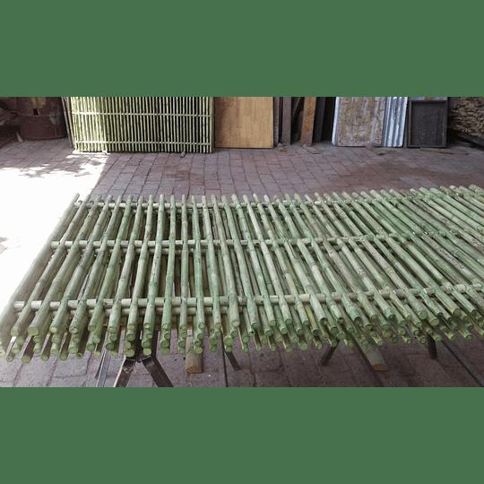 Panel Rígido con anillos Bambú Colihue (tipo rejilla) - Image 6