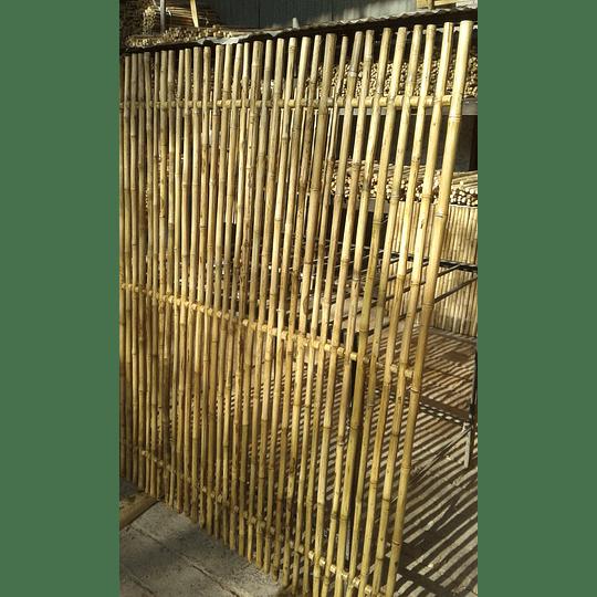 Panel Rígido con anillos Bambú Colihue (tipo rejilla) - Image 7