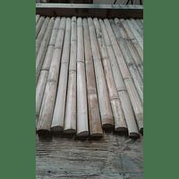 Tablero con tablillas de bambú colihue
