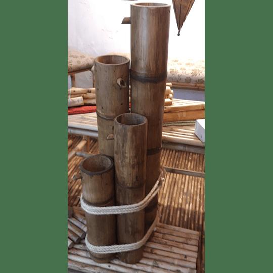 Fuente de Agua con Bambú (FABRICADAS A PEDIDO) - Image 1