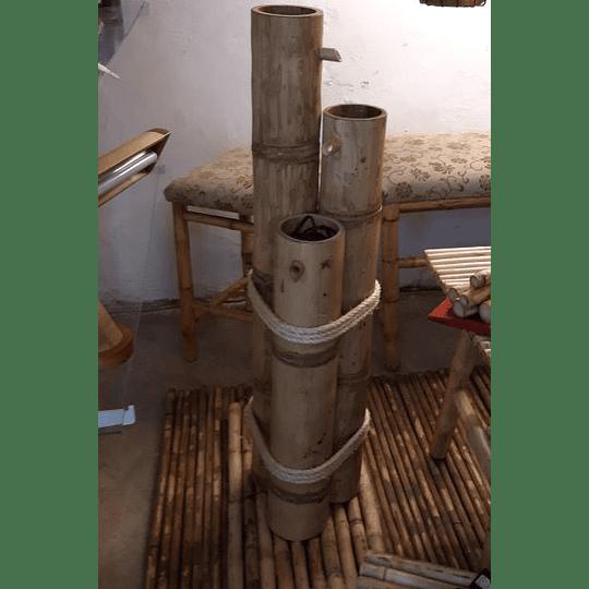 Fuente de Agua con Bambú (FABRICADAS A PEDIDO) - Image 2