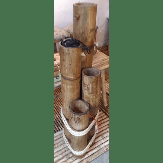 Fuente de Agua con Bambú (FABRICADAS A PEDIDO) - Image 4