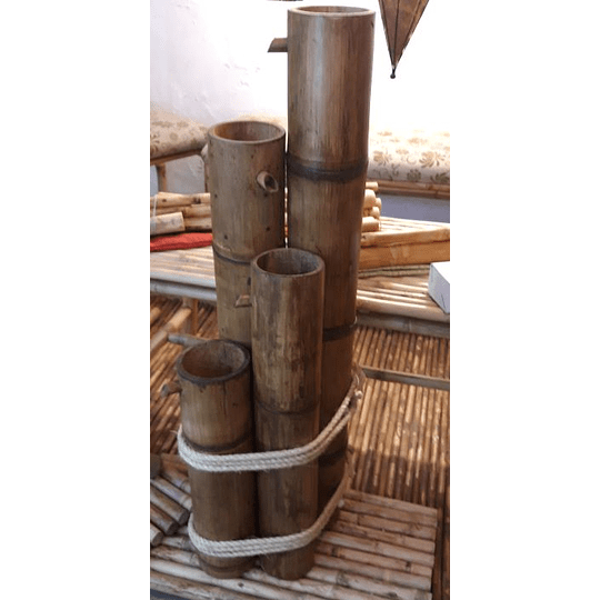 Fuente de Agua con Bambú  - Image 6
