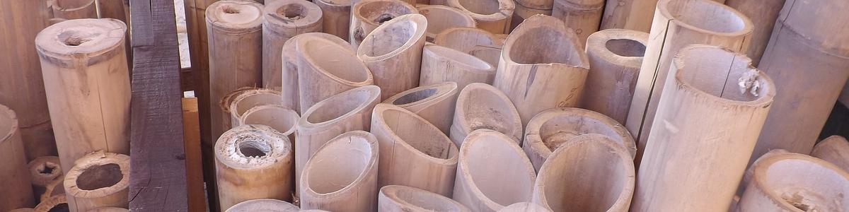 Varas Dimensionadas de Bambú