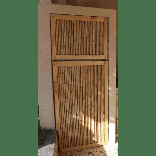 Panel de Bambú Colihue con marco de madera de pino - Image 3