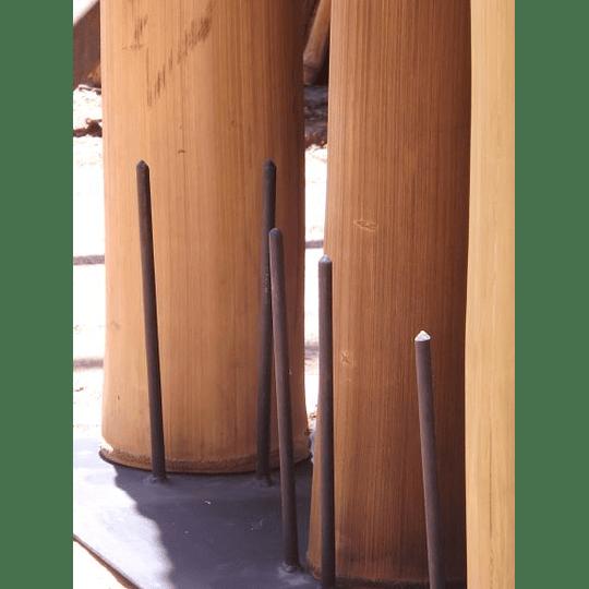 Bambú Asper dimensionado y preparado para decoración - Image 5