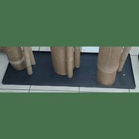 Bases en fierro pintado