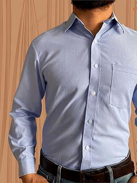 Camisa Manga Larga Oxford