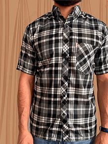 Camisa Manga Corta Leñadora