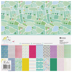 Paper pad grande Colección Chasing butterflies
