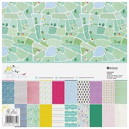 Paper pad grande Colección Chasing butterflies