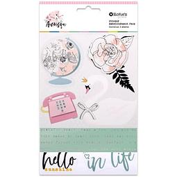 Arabesque  Sticker Embellishment Pack