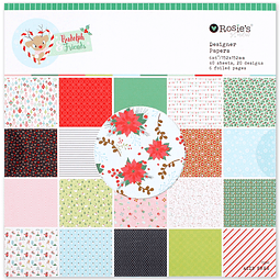 Paperpad pequeño colección Rudolph and friends
