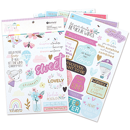 Take Flight Sticker Embellishment Pack 5pk