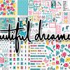 """Papeles grandes colección """"Beatiful dreamer"""""""