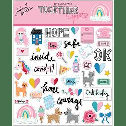 "Ephemera Pack Colección ""Together apart"""