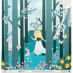 """""""IN THE ENCHANTED FOREST"""" SPECIALTY PAPER"""