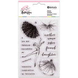 Clear Stamps Arabesque