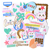 Lucky Me Cardstock Diecuts 138pk