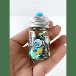 Shaker Mix Verde Azul