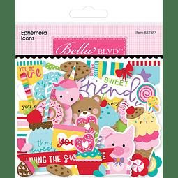 My Candy Girl Ephemera Icons