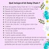 5° Taller online Album Daisy Chain