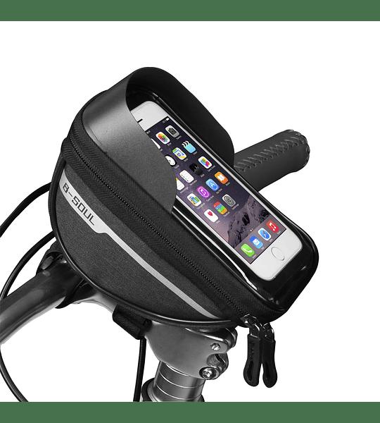 Bolso Porta Celular Impermeable Para Bicicleta