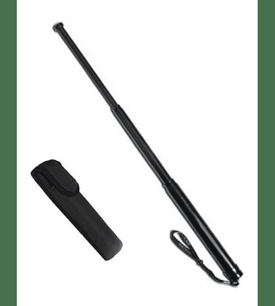 Baston Retractil Seguridad 29cm Acero