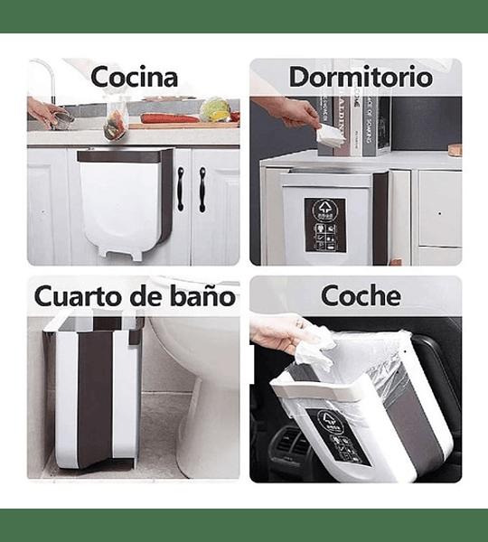 Basurero Cocina Plegable , Basurero Ergonomico Cocina