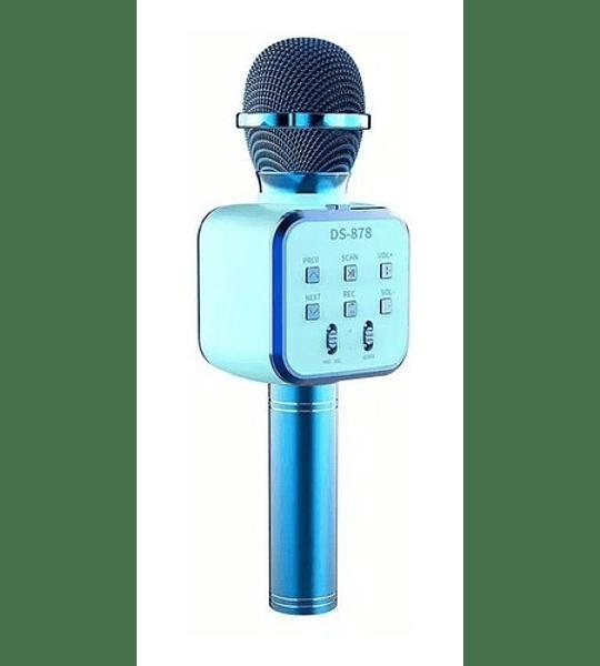 Micrófono Parlante Karaoke Bluetooth Inalámbrico