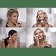 Depilador Depiladora Cejas Facial Recargable Usb 2 En 1