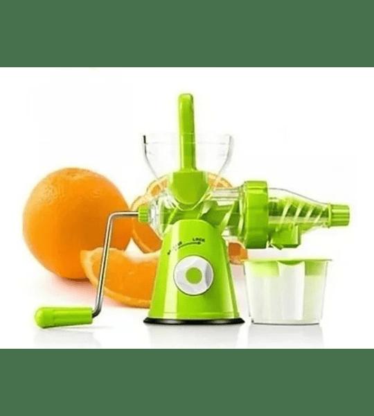 Exprimidor Extractor De Jugo Manual De Frutas Verduras