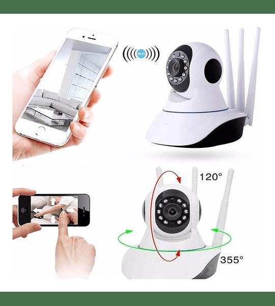 Camara Ip Wifi Seguridad Alarma
