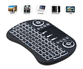 Mini Teclado Smart Tv Touchpad Luminoso