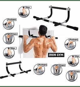 Barra Ejercicios Iron Gym Entrenamiento