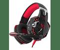 Audífono Gamer Pro G2000 Microfono Pc Led Calidad