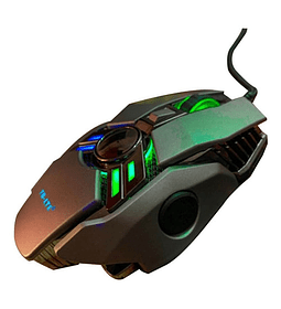 Mouse Gamer S280 7 Botones Optico Usb 3200 Dpi