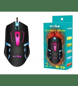 Mouse Gamer Weibo M39 3200 Dpi 3 Botones