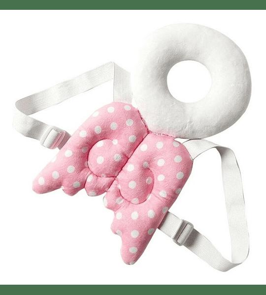 Mochila Cojin Protectora Cabeza, Espalda Y Cuello Del Bebé