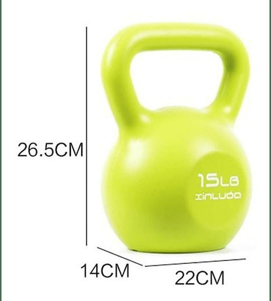 Pesa Rusa Kettlebell 15L Entrenamiento / Crossfit / Fitness