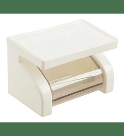 Dispensador Papel Higiénico Con Soporte Celular O Accesorios