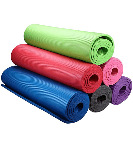 Colchoneta Mat Yoga Pilates Deportes 10 Mm